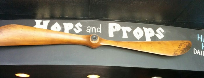 Hops and Props is one of SocialCode Hudson Eats.