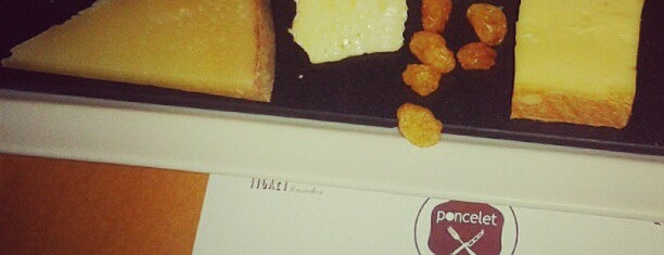 Poncelet Cheese Bar is one of Madrid Gourmand.