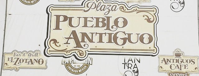 Plaza Plueblo Antiguo is one of Tadashi'nin Beğendiği Mekanlar.