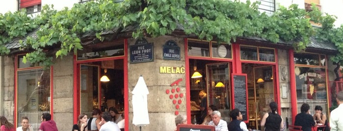 Bistrot Mélac is one of restos.
