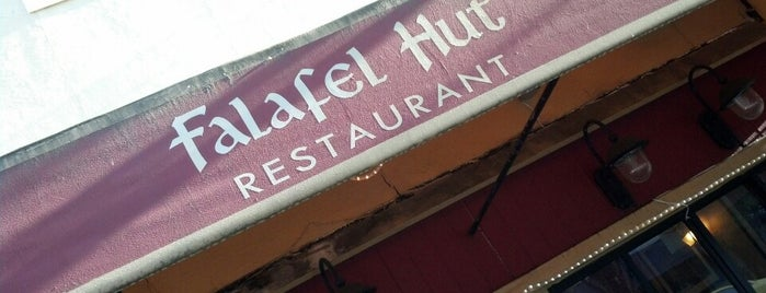 Falafel Hut is one of Lugares favoritos de Alden.