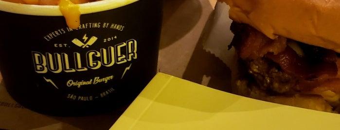 Bullguer is one of Locais curtidos por Tati.