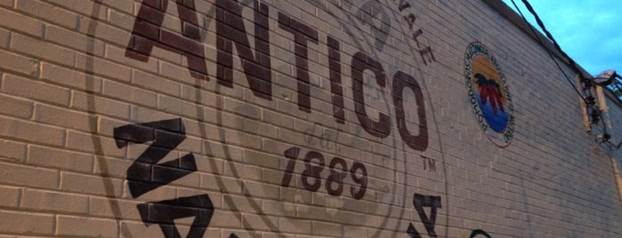 Antico Pizza Napoletana is one of 4sq Cities! (USA).