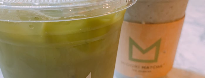 Midori Matcha Cafe is one of OC.