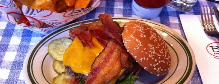 Bill's Bar & Burger is one of The Best Burgers in NYC.