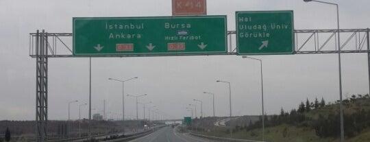 Görükle Kavşağı is one of Yalçınさんのお気に入りスポット.