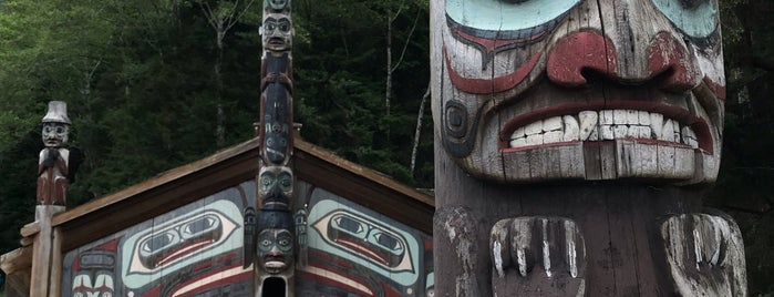 Totem Bight State Park is one of Ketchikan.