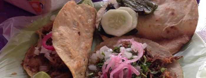 """Tacos De Birria """"La Chinita"""" is one of Tempat yang Disukai Bob."""