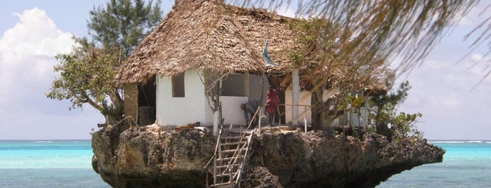 The Rock Restaurant Zanzibar is one of VSandra: сохраненные места.