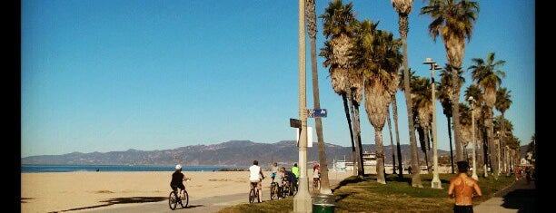Venice Beach Bike Path is one of Locais curtidos por Cristina.
