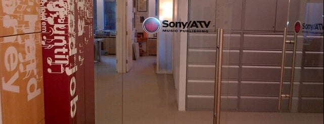 Sony/ATV Music Publishing is one of NYC - SPOTZ.