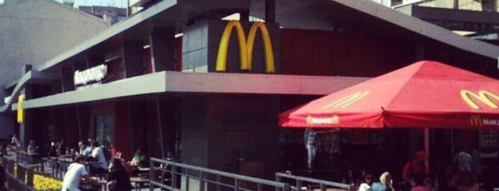 McDonald's is one of Orte, die Vera gefallen.