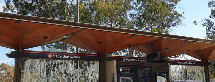 Metro Macarthur Avenue is one of Canberra Metro.
