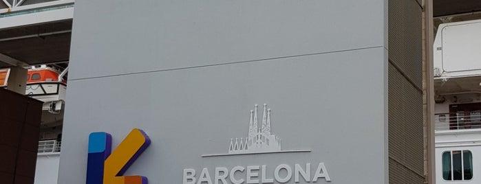 Port de Barcelona is one of Locais curtidos por Carlos.
