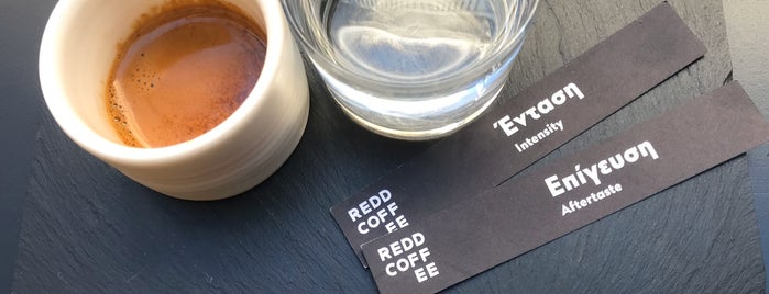 Redd Coffee is one of Athens Cafes.