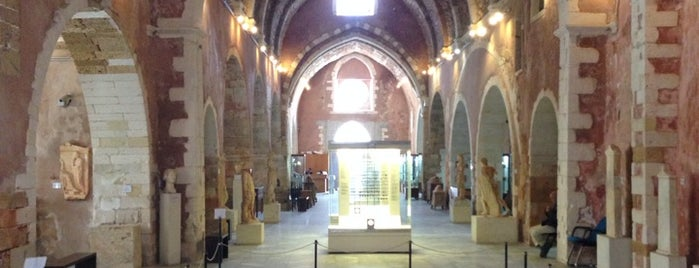 Archaeological Museum of Chania is one of Crete.