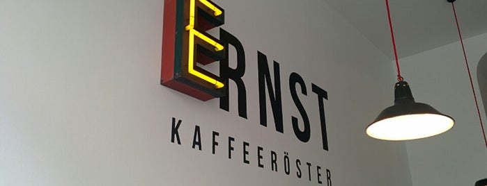 ERNST Kaffeeröster is one of Germany.