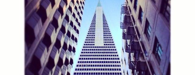 Transamerica Pyramid is one of San Francisco.