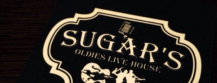 オールディーズライブハウス「シュガーズ」 is one of สถานที่ที่ Shigeo ถูกใจ.