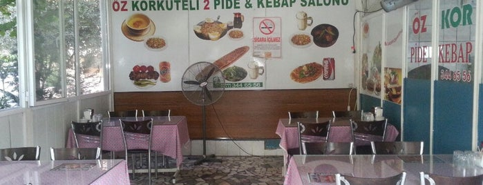 Öz Korkuteli Pide & Kebap Salonu is one of Antalya.