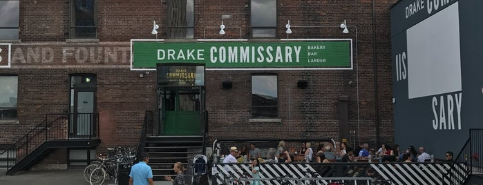 Drake Commissary is one of New Nest.