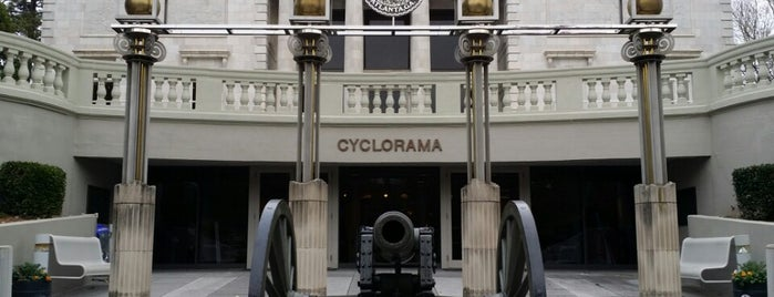 Atlanta Cyclorama & Civil War Museum is one of The Atlanta I Know and Love, By an Atlanta Native.