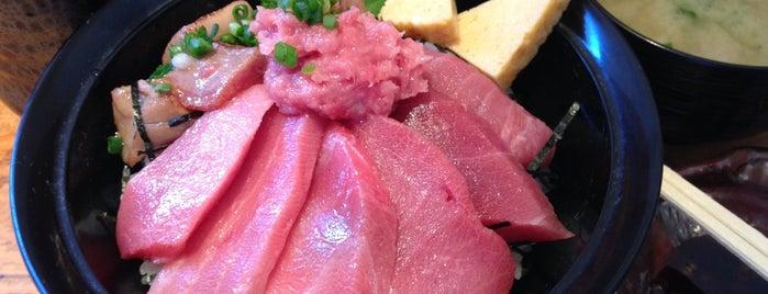 マグロ丼 清水港 みなみ is one of 静岡.