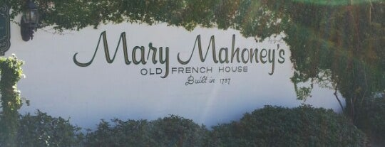 Mary Mahoney's Old French House is one of ATL_Hunter'in Beğendiği Mekanlar.