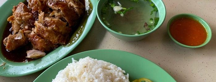 Zilan Nasi Ayam is one of Micheenli Guide: Nasi Ayam Penyet/Goreng in SG.