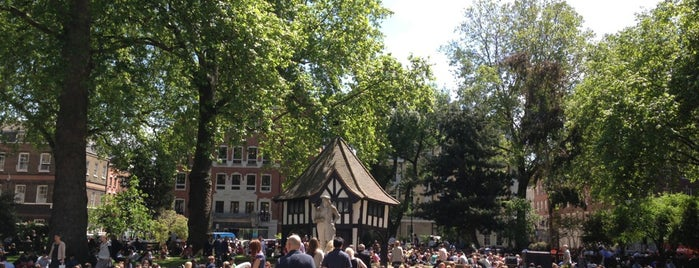 Soho Square is one of London - best of.
