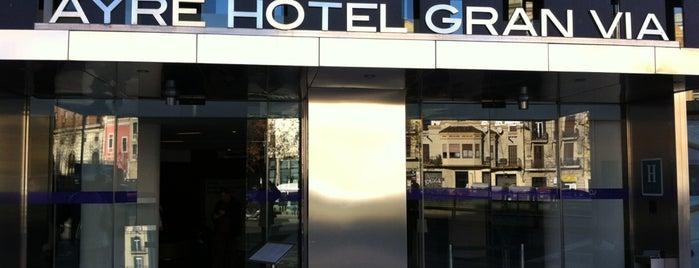 Ayre Hotel Gran Via Barcelona is one of Hoteles en España.