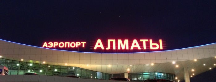 Almaty International Airport (ALA) is one of havaalanı.