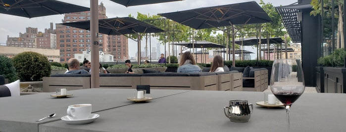 RH Rooftop Restaurant is one of NYC Summer Spots.