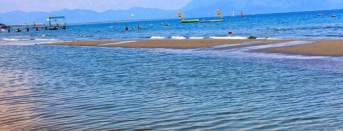 sarı germe plajı is one of Dalaman.