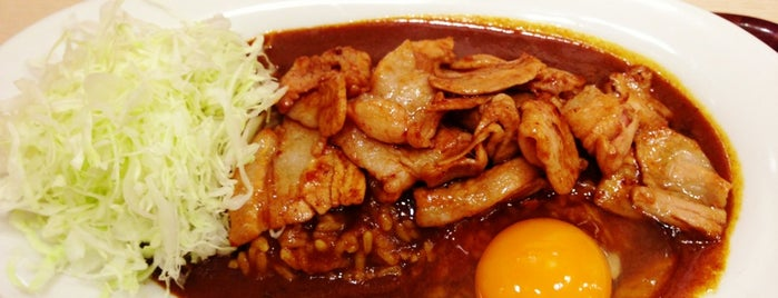 東京スタミナカレー365 秋葉原道場 is one of Posti che sono piaciuti a Mzn.