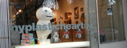 myplasticheart is one of NYC Best Shops.