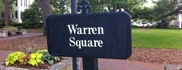 Warren Square is one of Outdoors in Savannah.