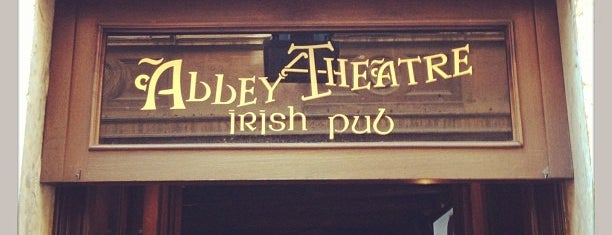 Abbey Theatre is one of Rome Drinks.
