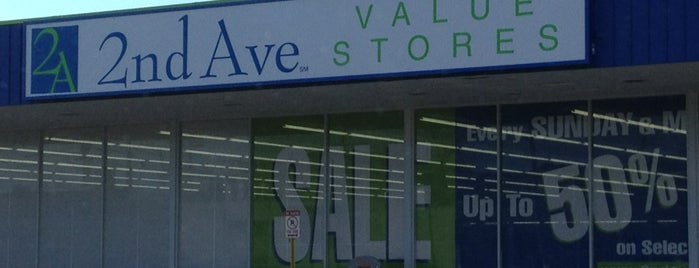 2nd Ave Value Stores is one of Thrift, 2nd hand & consignment stores.