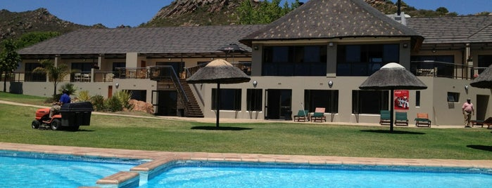 Piekenierskloof Mountain Resort is one of Sharonさんのお気に入りスポット.