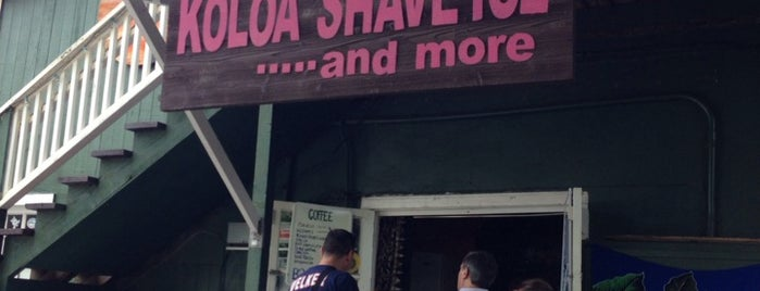 Koloa Shave Ice is one of Lieux qui ont plu à Sonja.