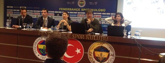 Basın Toplantısı Odası is one of themaraton.