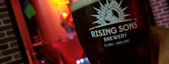 Rising Sons Brewery is one of Irlanda.