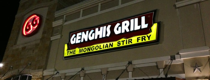 Genghis Grill is one of Frisco Eats.