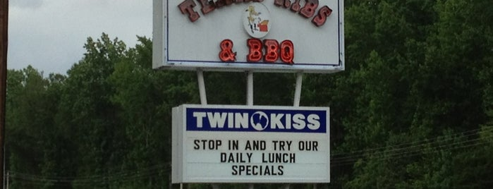Texas Ribs & BBQ is one of Near Andrews.