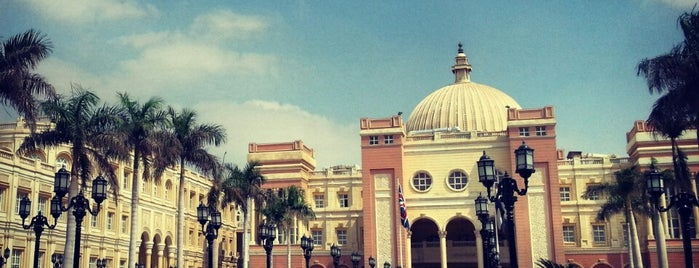 British University In Egypt is one of George'nin Beğendiği Mekanlar.