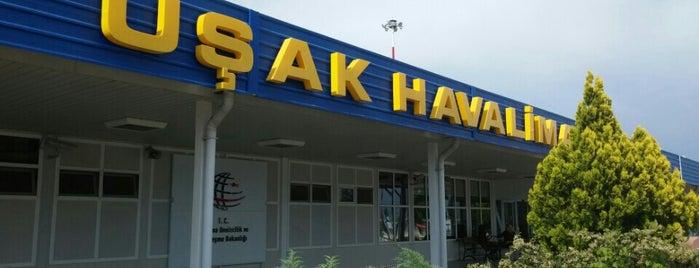 Uşak Havalimanı (USQ) is one of Havalimanları.