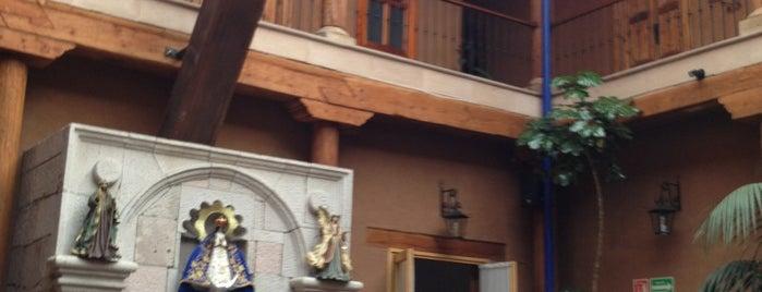 Hotel Casa del Refugio is one of Lugares favoritos de JUAN ANTONIO.