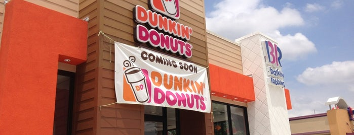 Dunkin' is one of Kim's Saved Places.