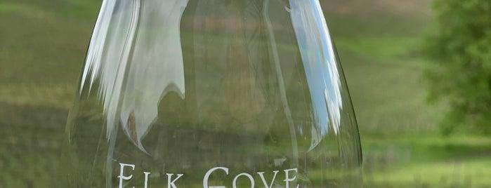 Elk Cove Vineyards is one of Oregon Wining.